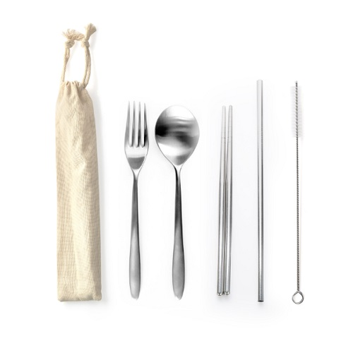 cutlery set for employees and clients